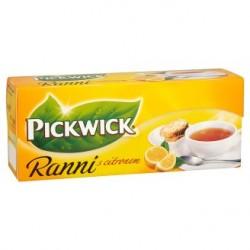 Pickwick Ranní Černý čaj s citrónem 25 x 1,75 g