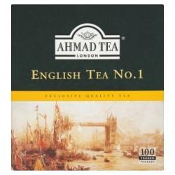 Ahmad Tea English tea no. 1 černý aromatizovaný čaj 100 sáčků 200g