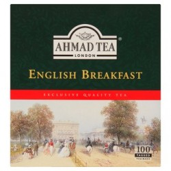 Ahmad Tea English breakfast černý čaj 100 sáčků 200g