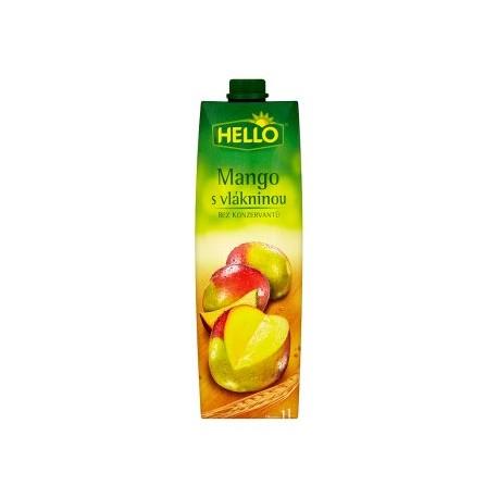 Hello Mangový nápoj s vlákninou 1l