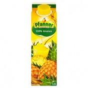 Pfanner 100% ananasová šťáva vyrobená z koncentrátu ananasové šťávy s vitaminem C 1l