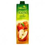 Hello 100% jablečná šťáva z koncentrátu 1l