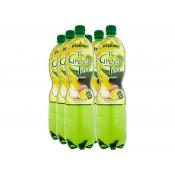 Pfanner Ledový čaj zelený + citron a liči 6x1,5L