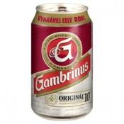 Gambrinus Originál 10° pivo výčepní světlé 330ml
