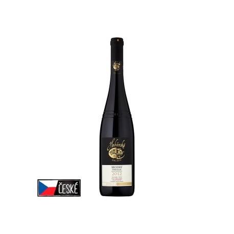 Habánské Sklepy Modrý portugal víno s přívlastkem pozdní sběr suché červené 0,75l