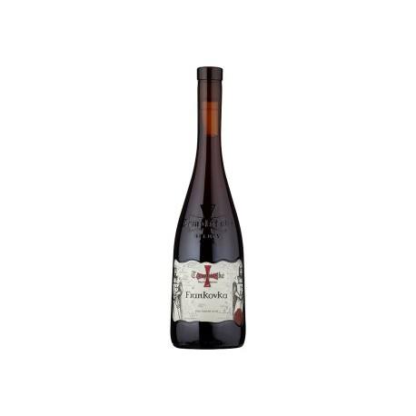 Templářské Sklepy Čejkovice Frankovka jakostní odrůdové suché červené víno 0,75l