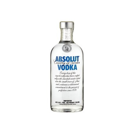 Absolut vodka 40% 1x700ml
