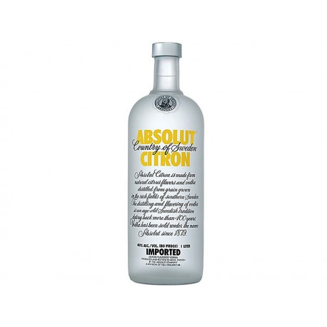 Absolut Citron vodka 40% 1x1L