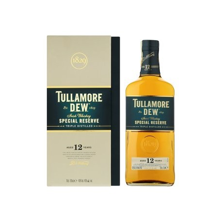 Tullamore Dew irská whiskey 12yo 40% 1x700ml