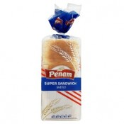 Penam Super sandwich světlý chléb pšeničný krájený 750g