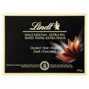 Lindt Dark thins hořká čokoláda 125g