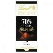 Lindt Excellence 70% kakaa hořká čokoláda 100g