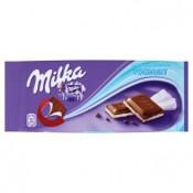 Milka Mléčná čokoláda z alpského mléka s náplní s jogurtovou příchutí 100g