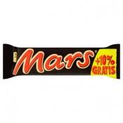 Mars Mléčná čokoláda plněná nugátem a karamelem 47g