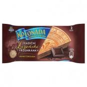 Opavia Kolonáda Tradiční lázeňské trojhránky oplatky s kakaovou náplní 2 ks 50g