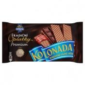 Opavia Kolonáda Tradiční premium oplatky plněné tabulkou hořké čokolády 92g