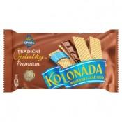 Opavia Kolonáda Tradiční premium oplatky plněné tabulkou mléčné čokolády 92g