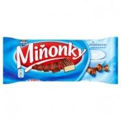 Opavia Miňonky Oplatky s mléčnou náplní se smetanovou příchutí v mléčné čokoládě 50g