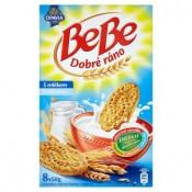 Opavia BeBe Dobré ráno cereální sušenky s mlékem 8 x 50g