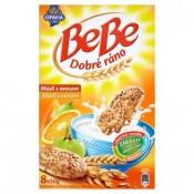 Opavia BeBe Dobré ráno cereální sušenky s pomerančovou chutí 8 x 50g