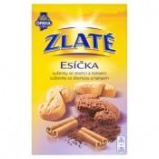 Opavia Zlaté Esíčka sušenky se skořicí a kakaem 220g
