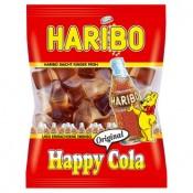 Haribo Happy Cola želé s příchutí ovoce a coly 100g