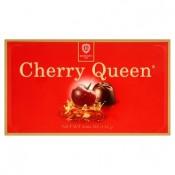 Cherry Queen Formované bonbony z hořké čokolády s višní v alkoholu 132g