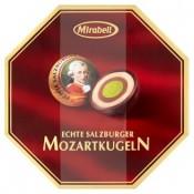 Mirabell Mozartkugeln čokoládové bonbóny plněné nugátovým krémem a marcipánem 100g