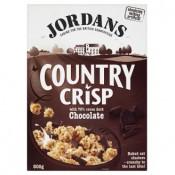 Jordans Country Crisp müsli čokoládové 1x500g