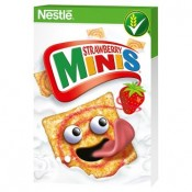 Nestlé Strawberry Minis cereálie 1x450g