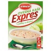 Emco Expres Ovesná kaše s jablky a skořicí 4 x 65g