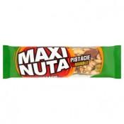 Maxi Nuta Tyčinka s pistáciemi, polomáčená v kakaové polevě 35g