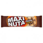 Maxi Nuta Tyčinka s praženými mandlemi, polomáčená v kakaové polevě 35g