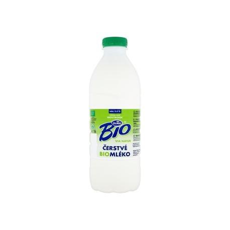 Olma Mléko čerstvé 3,5% BIO 1x1L PET chlaz.