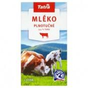 Tatra Trvanlivé plnotučné mléko 1l