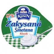 Mlékárna Kunín Zakysaná smetana klasik 12% 190g