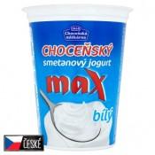 Choceňská Mlékárna Choceňský smetanový jogurt max bílý 380g