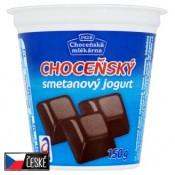 Choceňská Mlékárna Choceňský smetanový jogurt čokoládový 150g