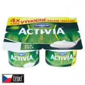 Danone Activia Bílá jogurt s bifidokulturou 4 x 120g