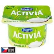 Danone Activia Bílá sladká jogurt s bifidokulturou 120g