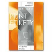 Samolepicí snímatelné etikety SK Label - 105,0 x 42,3 mm, 1400 ks