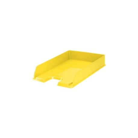 Zásuvka Esselte VIVIDA - A4, plastová, žlutá