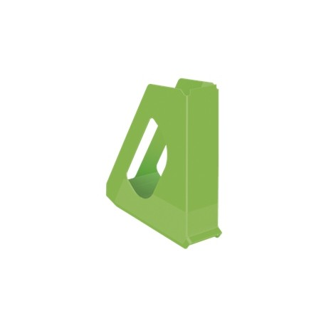 Stojan na časopisy Esselte VIVIDA - plastový, zelený