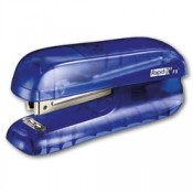 Sešívačka Rapid F5 mini - transparentní, modrá