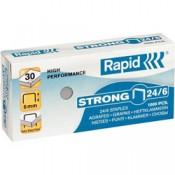 Drátky do sešívaček Rapid Strong 24/6, 1000 ks