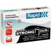Drátky do sešívaček Rapid Super Strong 24/8+, 1000 ks