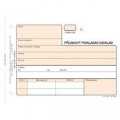 Příjmový pokladní doklad 3x25, číslovaný