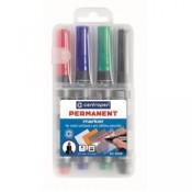 Permanentní popisovač Centropen 8566 - mix barev, 4 ks