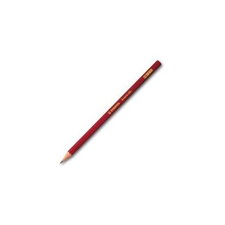Tužka grafitová Stabilo Swano, s pryží