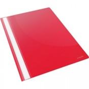 Desky s rychlovazačem VIVIDA, červené, 25 ks